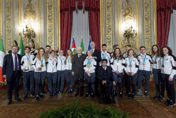 News sport invernali gruppi sportivi fiamme gialle for Xxiii giochi olimpici invernali di pyeongchang medaglie per paese