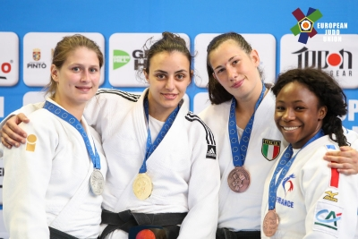 Tre medaglie all'European Open di Madrid di Judo