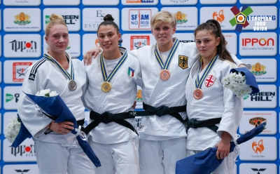 Campionati Europei Junior 2018: Oro per Alice Bellandi